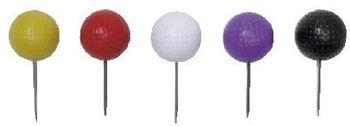 """Picture of 3"""" Diameter Dimpled Tee Markers"""