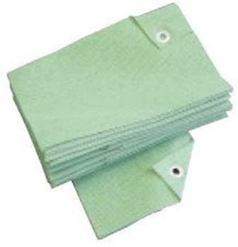 Picture of  Premium Solid Green Disponsable Tee Towels