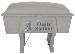 Picture of Oasis Station 63 Gallon Divot Mix Container