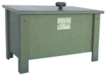 Picture of Recycled Plastic Lumber 63 1/2 Gallon Divot Mix Box